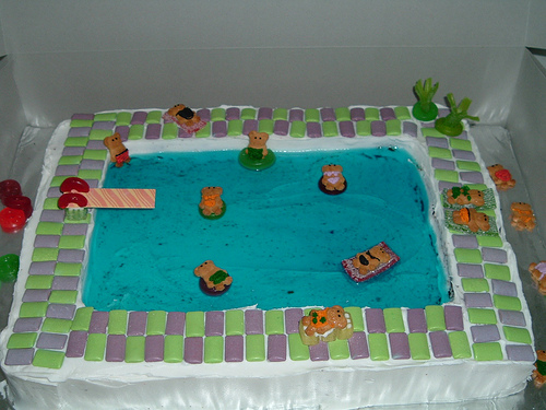 How To Make A Swimming Pool Cake With Jello