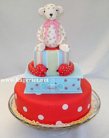 Kath Kidston themed cake